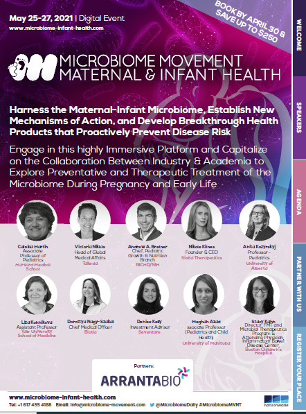 Microbiome Movement - Maternal & Infant Health - Brochure